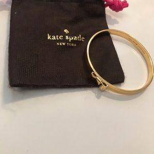 Gold Kate Spade bow bracelet
